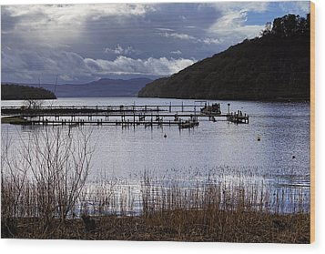 Wood Print featuring the photograph Loch Lomond by Jeremy Lavender Photography