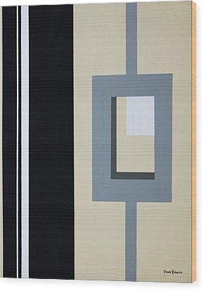 Lock Wood Print by Slade Roberts
