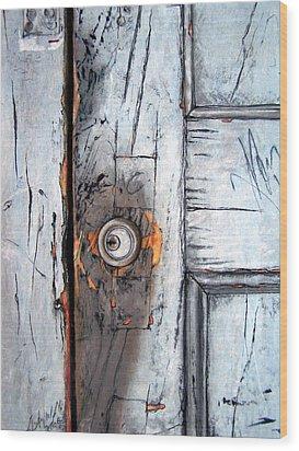 Locked Wood Print by Leyla Munteanu
