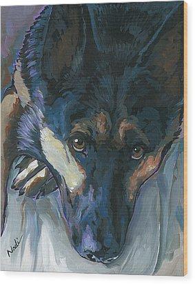 Logan Wood Print by Nadi Spencer