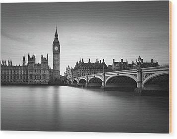 London, Westminster Bridge Wood Print by Ivo Kerssemakers