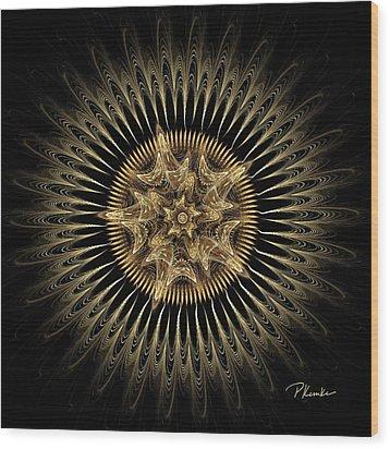 Lone Star Wood Print