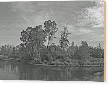 lonely Island Wood Print by M Ryan
