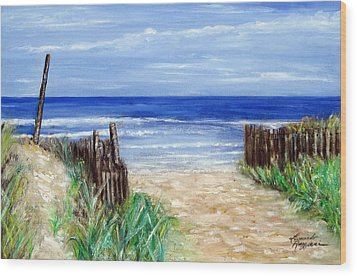 Long Beach Island Nj Wood Print