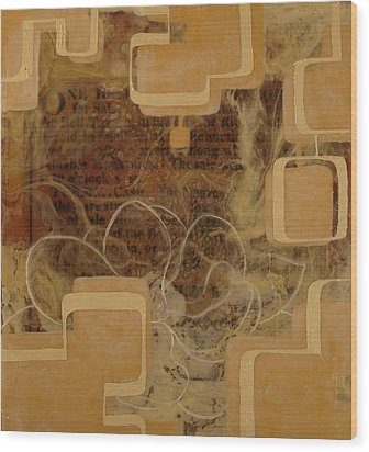 Long Gone And Far Away Wood Print by Monica James