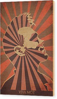 Long Live Morrisey Wood Print