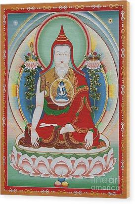 Longchenpa Wood Print