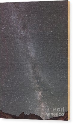 Wood Print featuring the photograph Look To The Heavens by Sandra Bronstein