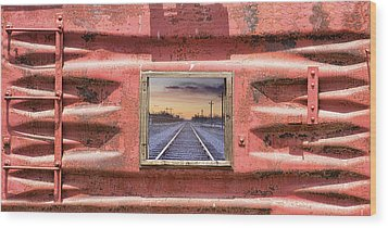 Wood Print featuring the photograph Looking Back by James BO Insogna