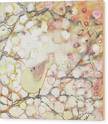 Looking For Love Wood Print by Jennifer Lommers