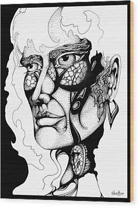 Lord Of The Flies Study Wood Print by Curtiss Shaffer