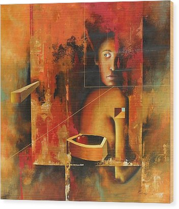 Los Secretos Wood Print by Santiago Polvos