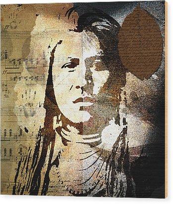 Lost In Time Wood Print by Ramneek Narang
