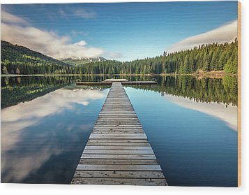 Wood Print featuring the photograph Lost Lake Dream Whistler by Pierre Leclerc Photography