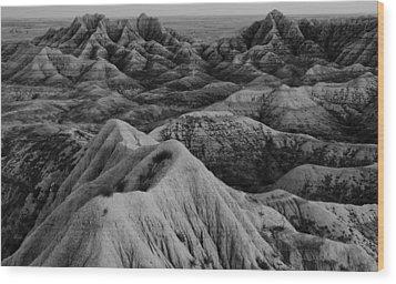 Lost On Mars Wood Print by Wesley Maddox