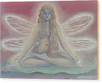 Lotus Faerie Princess Wood Print