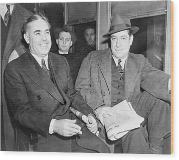Louis Capone 1896-1944 And Emanuel Wood Print by Everett