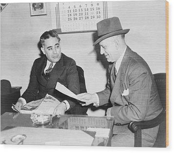 Louis Capone 1896-1944 Wood Print by Everett
