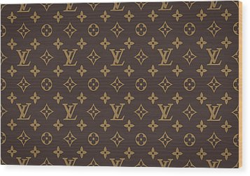 Louis Vuitton Texture Wood Print