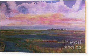 Louisiana Clouds Wood Print