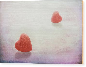 Wood Print featuring the photograph Love At First Sight by Tom Mc Nemar