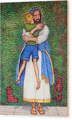 Love Wood Print by Edward Ruth