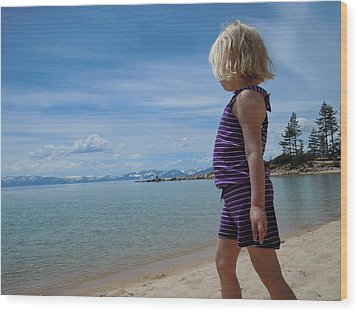 Wood Print featuring the photograph Love Lake Tahoe by Dan Whittemore