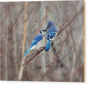 Love Me Tender Wood Print