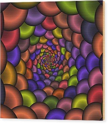 Love Tunnel 223 Wood Print by Rolf Bertram
