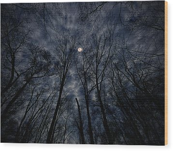 Wood Print featuring the photograph Lovely Dark And Deep by Robert Geary