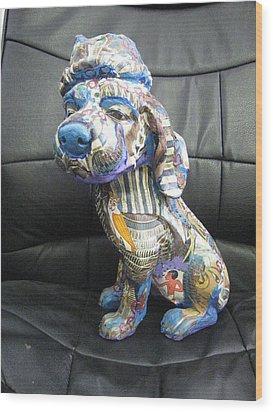Lovely Dog Wood Print