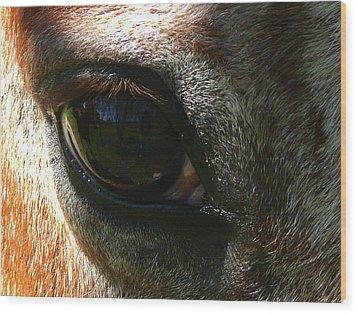 Loving Eye Wood Print