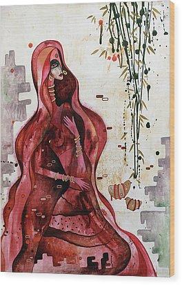 Loving The Unknown - Seeking Wood Print by Rohan Sandhir