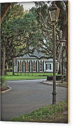 Wood Print featuring the photograph Low Country Wedding Chapel by Margaret Palmer
