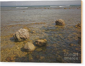 Wood Print featuring the photograph Low Tide 2 by Nicola Fiscarelli