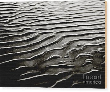Low Tide  Wood Print by Charmian Vistaunet