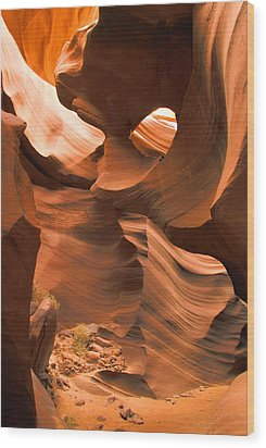 Lower Antelope Canyon Wood Print