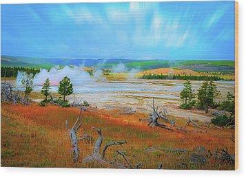Lower Basin Wood Print by Mark Dunton