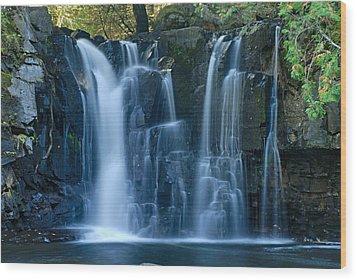 Lower Johnson Falls 2 Wood Print