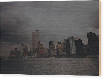 Lower Manhattan Wood Print by Rob Hans