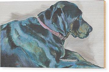 Loyalty Wood Print by Stephanie Come-Ryker
