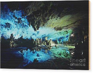 Lu Di Cave Wood Print by Rita Ariyoshi - Printscapes