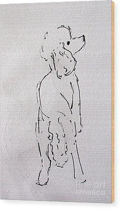 Lu Lu Wood Print