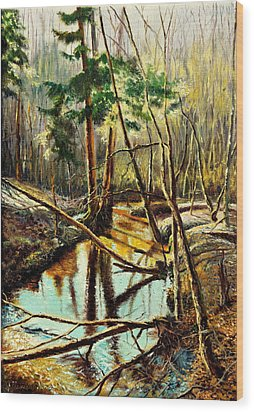 Lubianka-1- River Wood Print