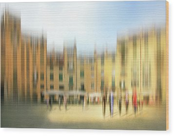 Lucca Ampitheatre Impression 1 Wood Print
