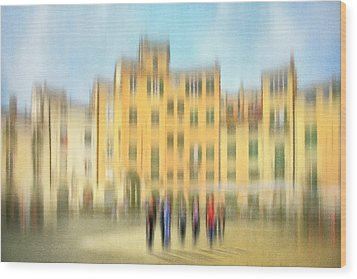 Lucca Ampitheatre Impression 2 Wood Print