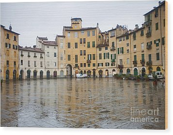 Lucca Wood Print by Andre Goncalves