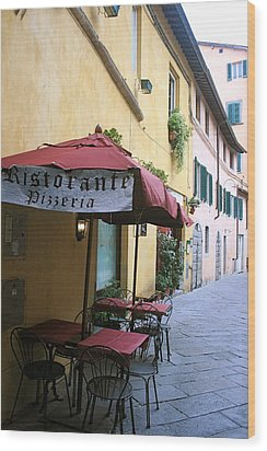 Lucca In Tuscany Wood Print by  K Scott Williamson