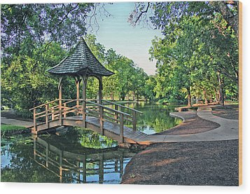 Lucy Park Wood Print
