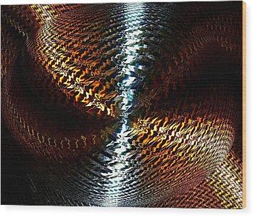 Luminous Energy 10 Wood Print by Will Borden